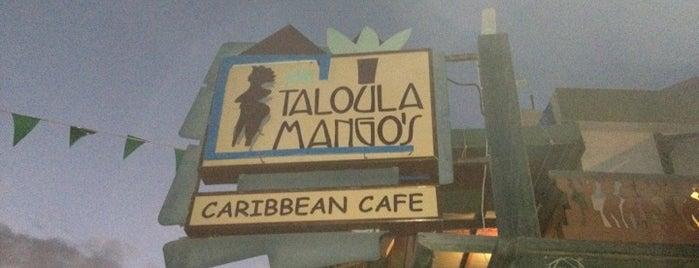 Taloula Mango's Caribbean Café is one of Lugares favoritos de Rohan.