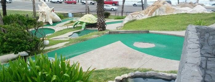 Magic Carpet Golf is one of Galveston.