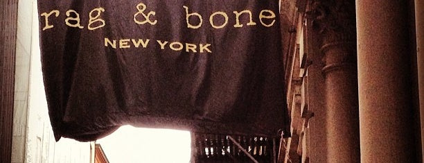 rag & bone is one of NY bday party.
