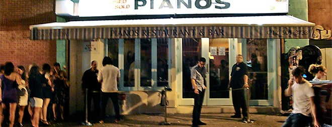 Pianos is one of Don't Stop Believin'  Badge.