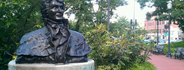 Francis Scott Key Memorial Park is one of DC Monuments.