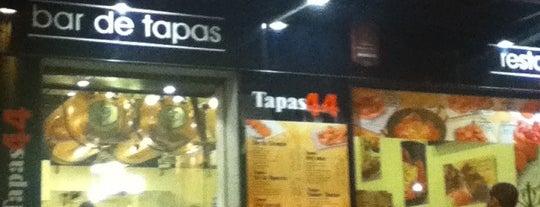 Tapas 44 is one of Estrella Galicia fóra de Galicia.