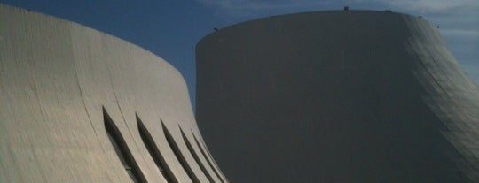 Le Volcan is one of Oscar Niemeyer [1907-2012].