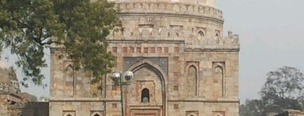 Lodhi Gardens (लोधी बाग़) is one of Delhi.