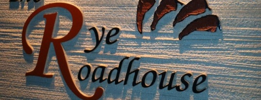 The Rye Roadhouse is one of When in White Plains....
