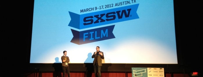 Alamo Drafthouse Cinema is one of Austin x SXSW.