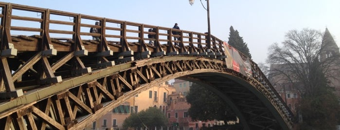 Ponte dell'Accademia is one of Orte, die Matthew gefallen.
