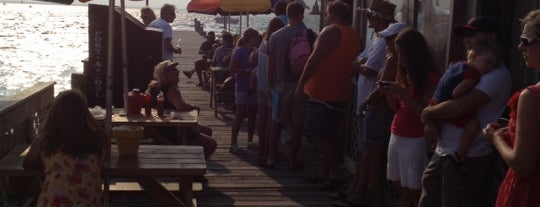 Dewey Destin's Seafood & Restaurant is one of Best Water Views in Florida.