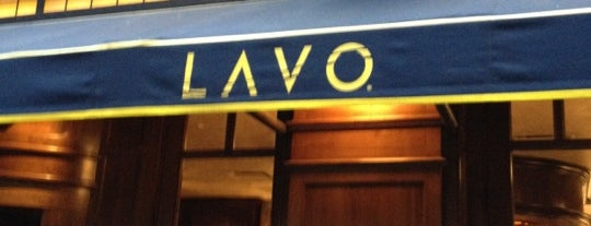 Lavo is one of NYC.