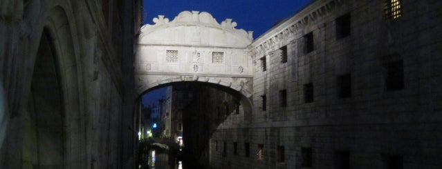 Ponte dei Sospiri is one of Venice.