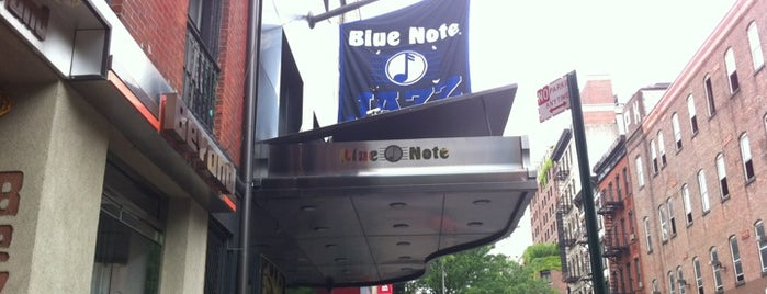 Blue Note is one of Minha NYC.