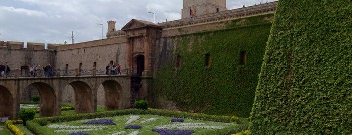 Castillo de Montjuic is one of Spain. Barcelona.