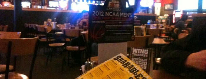 Buffalo Wild Wings is one of Chris 님이 좋아한 장소.