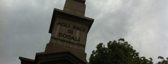 Obelisco Dogali is one of Rome / Roma.