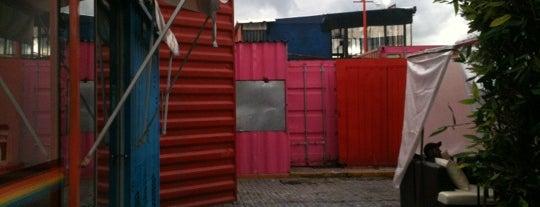 Container City is one of Para el desestrés en Puebla.