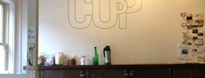 Cup is one of Best in NYC coffee.