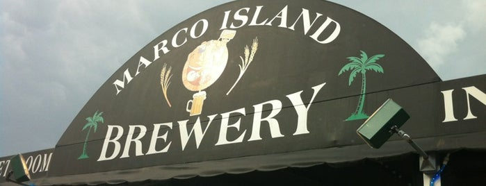 Marco Island Brewery is one of Locais curtidos por Michael.