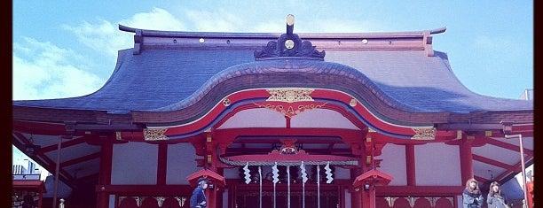 Hanazono Shrine is one of 神輿で訪れた場所-1.
