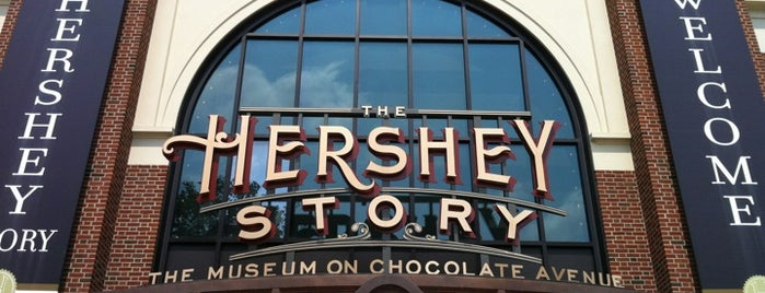 The Hershey Story | Museum on Chocolate Avenue is one of Locais curtidos por Brooke.