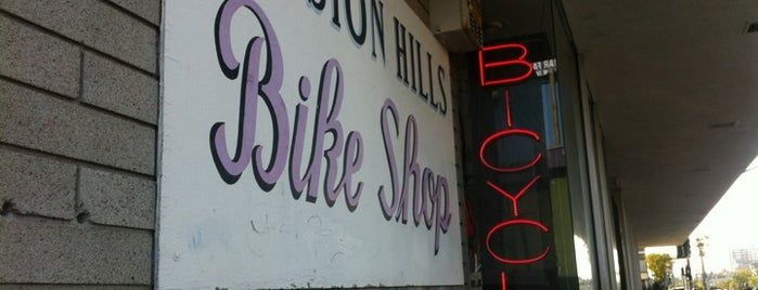 Mission Hills Bicycles is one of Favorite Haunts Insane Diego.