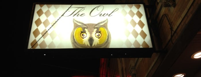 The Owl is one of My Favorite Places.