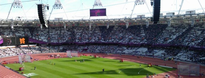 London Stadium is one of London.