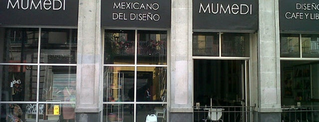 Museo Mexicano Del Diseño (MUMEDI) is one of df.