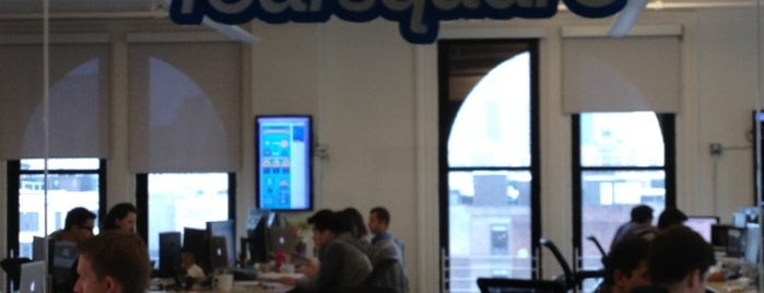 Foursquare HQ is one of Silicon Alley, NYC.
