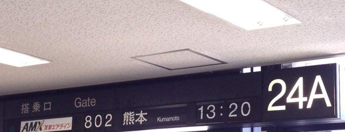 Gate 24 is one of 大阪国際空港(伊丹空港) 搭乗口 ITM gate.