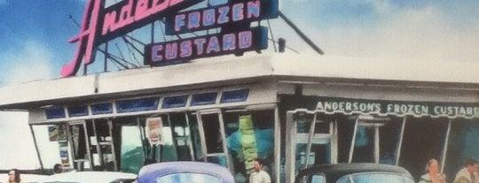 Anderson's Frozen Custard is one of Dessert.