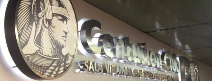 Sala VIP Centurion Club (American Express) is one of Locais salvos de Fabio.