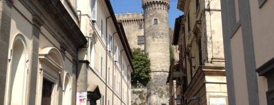 Castello Orsini Odescalchi is one of Tempat yang Disukai MENU.