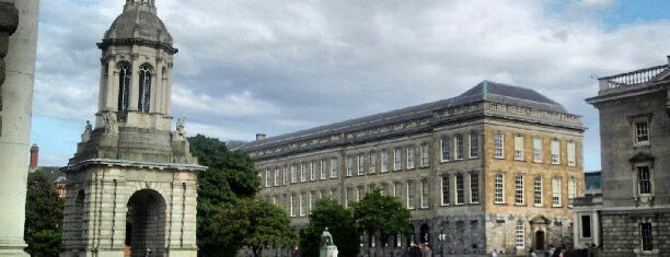 Trinity College is one of Mark's list of Ireland.