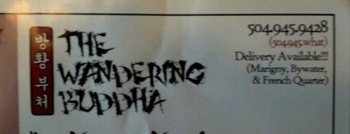 The Wandering Buddha is one of สถานที่ที่บันทึกไว้ของ Sean.
