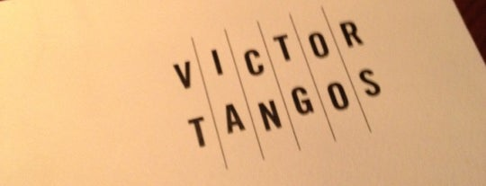 Victor Tangos is one of Favorite restaurants.