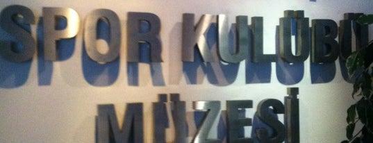 Fenerbahçe Spor Kulübü Müzesi is one of Lugares guardados de Umut.
