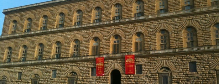Palais Pitti is one of Stevenson's Favorite Art Museums.
