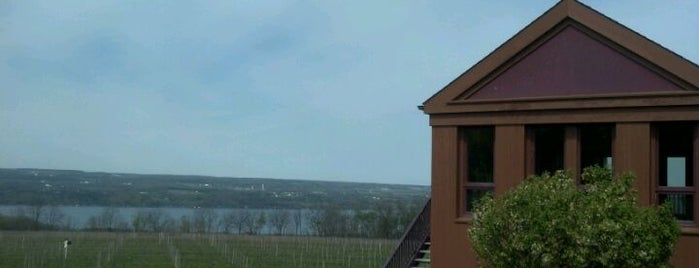 Lamoreaux Landing Wine Cellars is one of Fingerlakes Transport an Tour Service.
