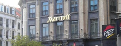 Brussels Marriott Hotel Grand Place is one of Tempat yang Disukai Al.