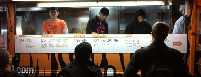 Korilla BBQ is one of Food Truck Heaven NYC.