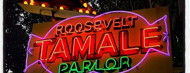 Roosevelt Tamale Parlor is one of squeasel 님이 저장한 장소.