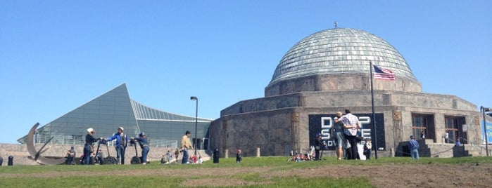 Adler Planetarium is one of 101 places to see in Chicago before you die.