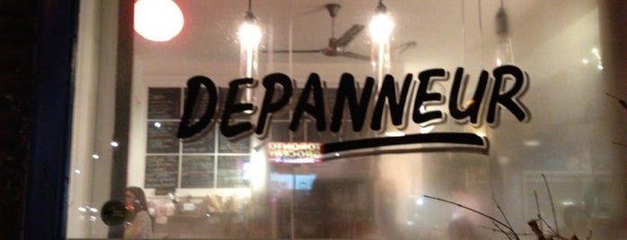 The Depanneur is one of Toronto vegetarian restaurants.