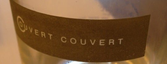 Couvert Couvert is one of The World's Best Restaurants.