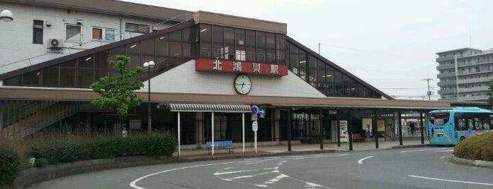 Kita-Kōnosu Station is one of JR 미나미간토지방역 (JR 南関東地方の駅).