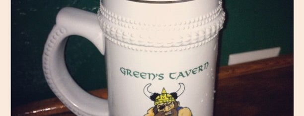 Green's Tavern is one of Board Game Cafes.