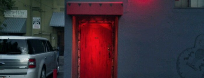 The Red Door is one of Secret Bars.