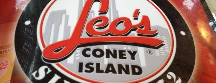 Leo's Coney Island is one of Locais curtidos por Geraldine  🤡😻😆💋👋.