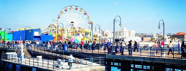 Santa Monica Pier is one of US Landmarks.