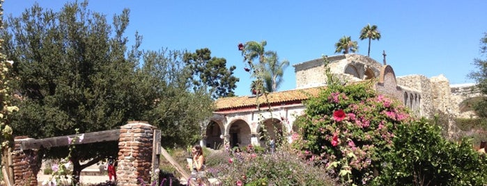 Historic Mission San Juan Capistrano is one of SoCal Musts.
